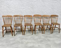 Set of 6 Stickback Windsor Kitchen / Dining Chairs (3 of 6)