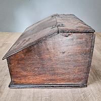 17th Century Oak Deed Box (3 of 4)