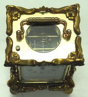 Extremely Rare 8-day Striking Carriage Repeat Feature Waterbury Clock Co c.1880 (13 of 14)