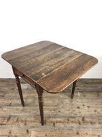 Small Victorian Welsh Oak Pembroke Table (11 of 18)