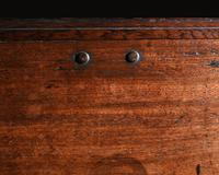 Imposing 17th Century Portuguese Colonial Mahogany & Brass Chest (5 of 8)