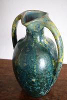 Large Art Nouveau Pierrefonds Crystalline Statement Vase (5 of 11)