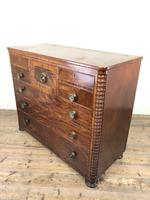 Unusual Victorian Mahogany Chest of Drawers