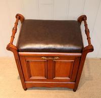 Edwardian Walnut Piano Stool (2 of 9)
