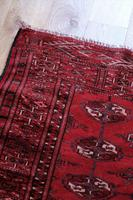 Vintage Handmade Persian Turkoman Rug (4 of 12)