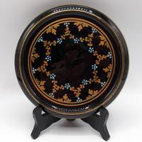 Jackfield Ware Teapot & Stand c.1840 (4 of 7)