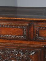 Antique Northern French Carved Oak Side Cabinet (7 of 15)