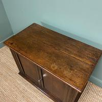 Quality Victorian Solid Oak Antique Cupboard (6 of 7)