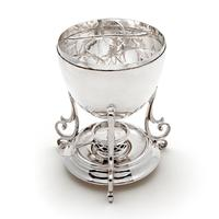Victorian Silver Plated Egg Boiler with Chicken Shaped Finial (2 of 5)