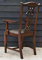 Good Quality Set of Eight Georgian Style Mahogany Dining Chairs c.1910 (5 of 12)