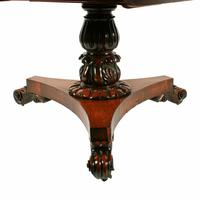 George IV Rosewood Centre Table (6 of 8)