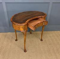 Burr Walnut Kidney Shaped Table (5 of 12)