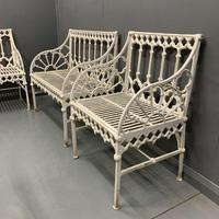 Vintage Garden Chairs & Benches (9 of 10)