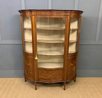 Maple & Co Inlaid Mahogany Display Cabinet (10 of 17)