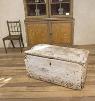 19th Century Rustic Painted Country House Trunk - Coffee Table (16 of 16)