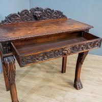 Victorian Carved Console Table (5 of 6)