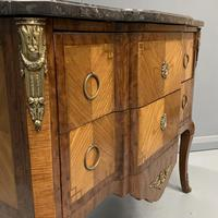 French 19th Century Marble Top Commode (4 of 11)