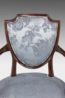 Set of Six Late 19th Century Hepplewhite Design Chairs (12 of 12)