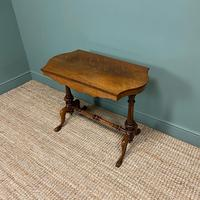 Victorian Rosewood Antique Writing Table (3 of 7)