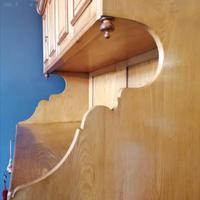 Large Edwardian Pine Chinoiserie Style Dresser (11 of 16)