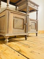 Antique French Bedside Tables / Marble Bedside Cabinets / Nightstands (4 of 7)
