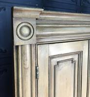 Pine Barrel Back Corner Cupboard in Original Paint (6 of 18)