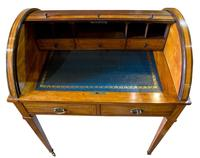 Satinwood Tambour Topped Desk c.1890 (7 of 10)