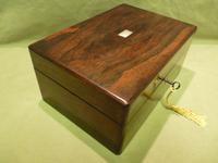 Inlaid Rosewood Jewellery – Vanity Box c.1860 (14 of 14)