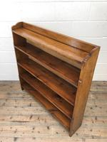 Early 20th Century Antique Oak Bookcase (5 of 9)