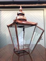 Antique Copper Glazed Lantern (7 of 8)