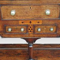 George III Oak Pot Board Dresser Base (12 of 13)