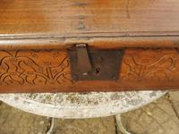 Country Oak Carved Bible Box Tree of Life 1740 (4 of 11)