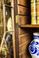 Antique 19th Century Mahogany Breakfront Bookcase (10 of 12)