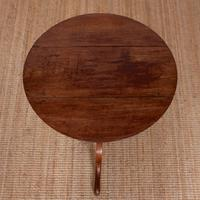 Drop Leaf Tripod Table 19th Century Mahogany (8 of 9)