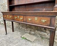 18th Century Georgian Oak Dresser (12 of 16)