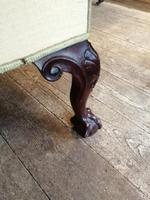 19th Century Winged Walnut Armchair (3 of 7)
