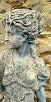 Large Composition Stone Figure / Garden Statuary (6 of 7)