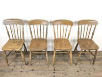 Set of Four Mix & Match Farmhouse Chairs (5 of 10)