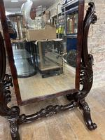 1900s Mahogany Mirror (2 of 4)