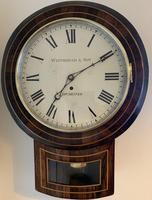 Rosewood Late Victorian Fusee Timepiece (2 of 11)