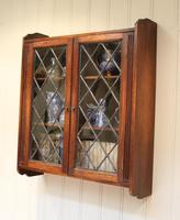 Oak Glazed Wall Cabinet (6 of 9)