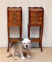 Pair of Tulipwood Bedside Cabinets (7 of 10)