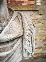 Large Composite Stone Statue On Column - Julius Cesar (9 of 11)