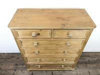 Large Vintage Pine Chest of Drawers (2 of 8)