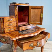 Victorian Marquetry Desk (7 of 8)