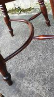 Wonderful Example of Handsome Yew High Back Windsor Chair (4 of 8)