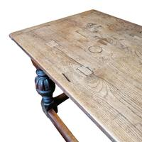 Beautiful 17th Century Oak Refectory Table (3 of 6)