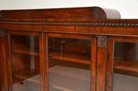 Antique George IV Mahogany Dwarf Bookcase (8 of 11)