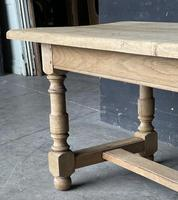 French Bleached Oak Farmhouse Kitchen Table (15 of 25)
