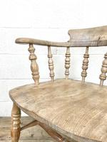 Pair of Antique Smoker's Bow Chairs (7 of 10)